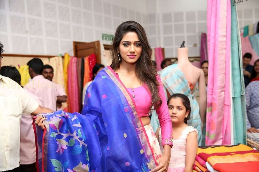 Actress Shalu Chourasya Launches National Silk Expo @ Shilpakala Vedika