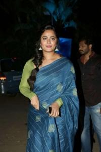 Anushka @ Bhaagamathie Promotions