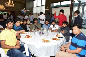 Grand Reception For Kalyan Ram in Chicago