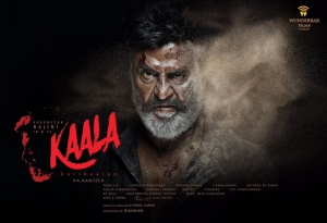 Kaala Movie First Look Poster
