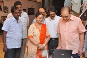 Krishna Launches 'Krishna Maheshs Ananda Bhavanam'