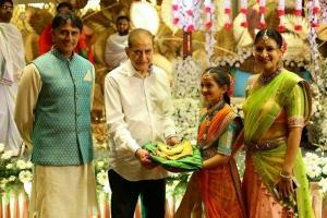 Mahesh Babu Niece Half Saree Function