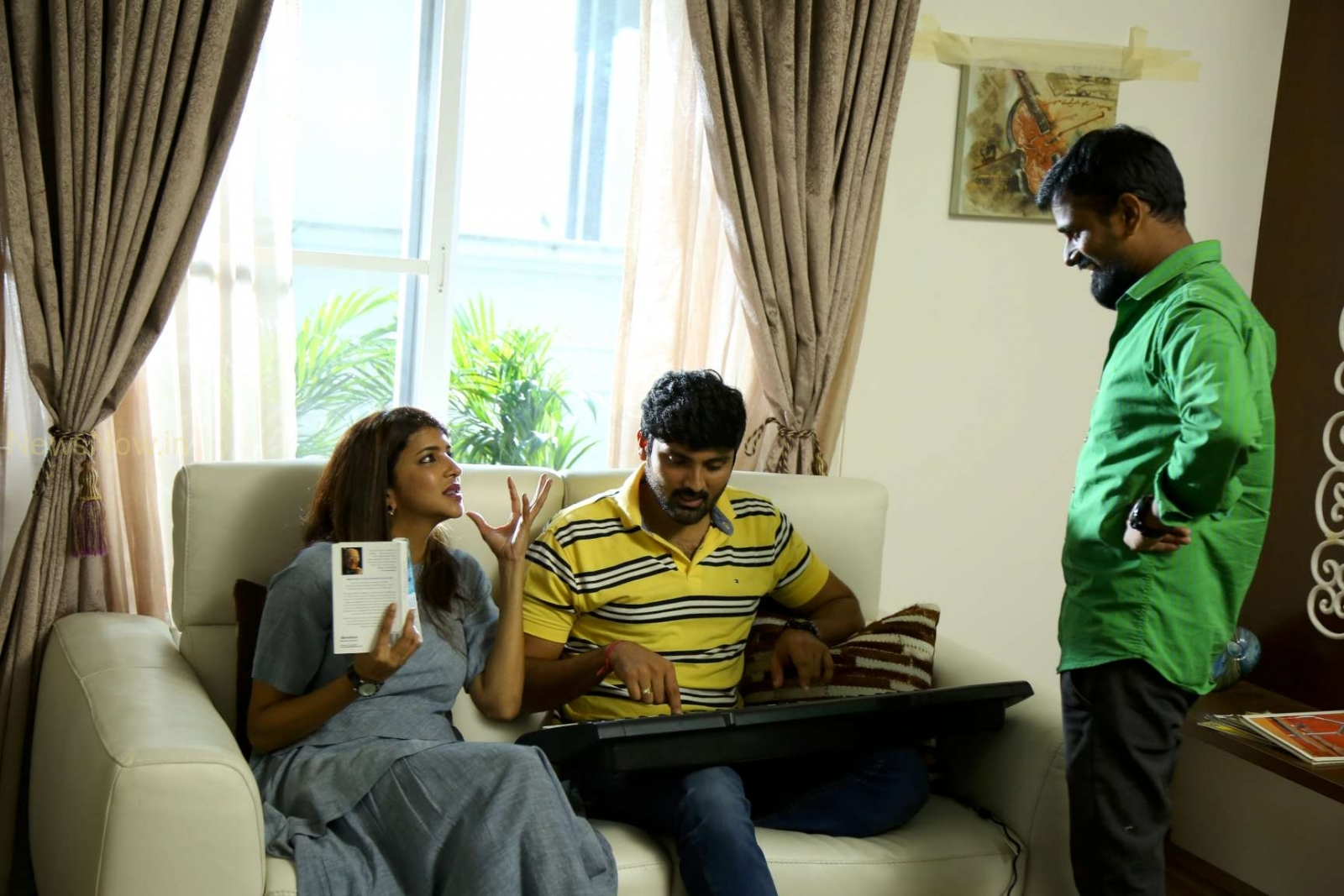 Manchu Lakshmi as w/o RAM - Movie Stills