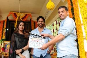 Maruthi-Naga Chaitanya Movie Launch