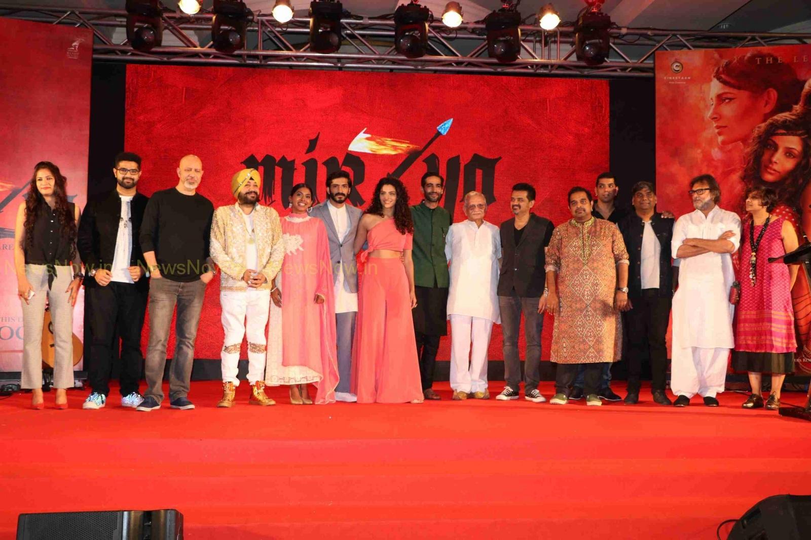 MIRZYA-Anil Kapoor's Son Harshvardhan film Music launch