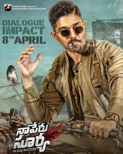 'Naa Peru Surya' Movie Stills..