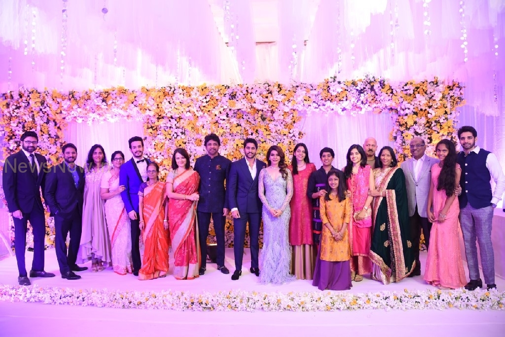 Naga Chaitanya-Samantha Reception Stills
