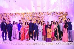 Naga Chaitanya-Samantha Reception Stills