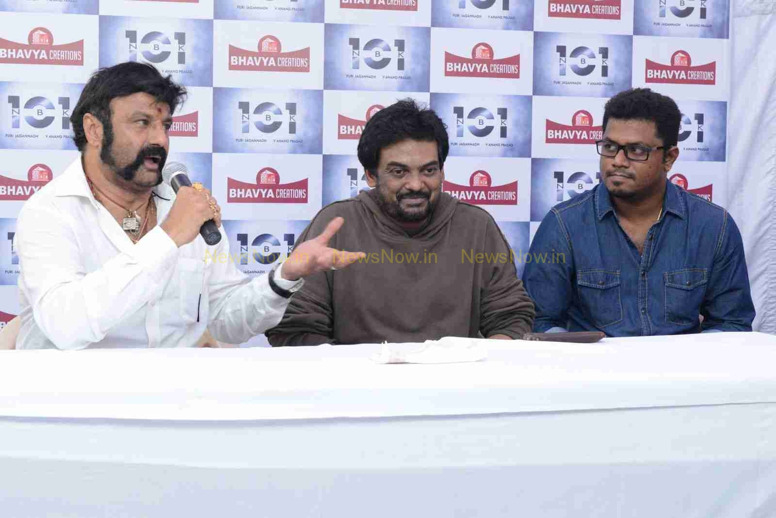 NBK 101 Movie Launch