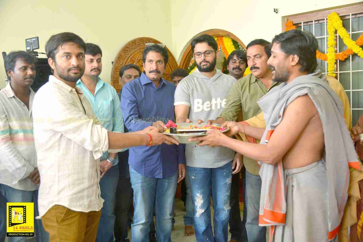 Nithin New Movie Launch