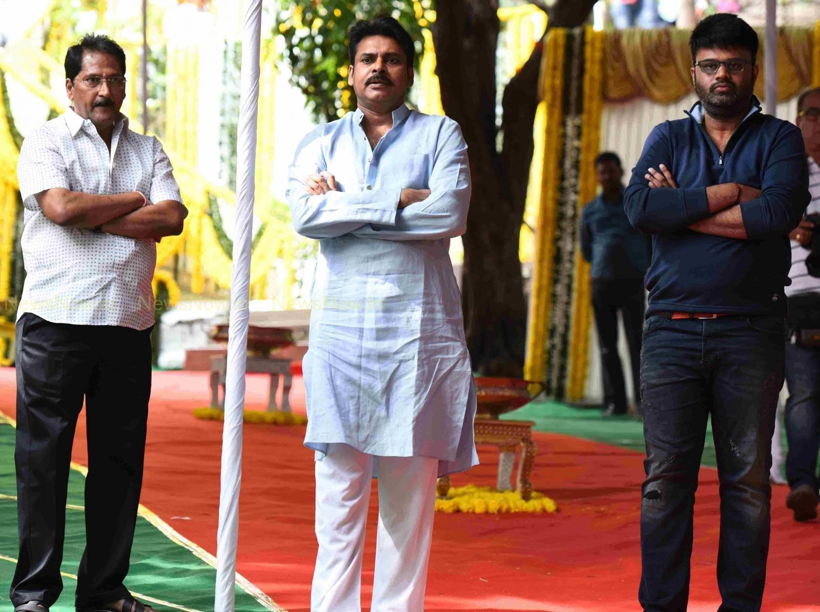 Pawan-Thrivikram Movie Launch