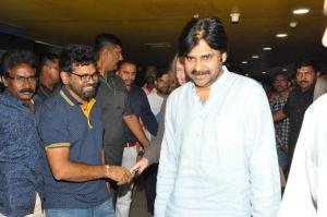 Pawan Watches Rangasthalam Movie
