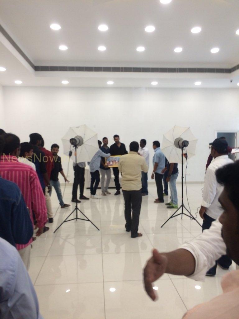 Prabhas Fans meet..