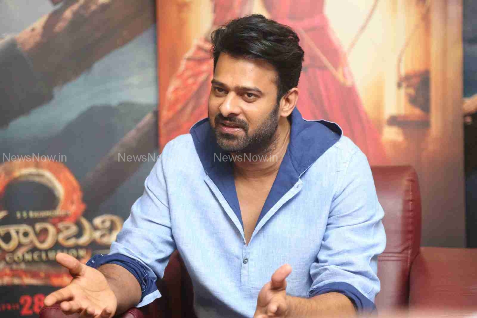 Prabhas interview PHotos