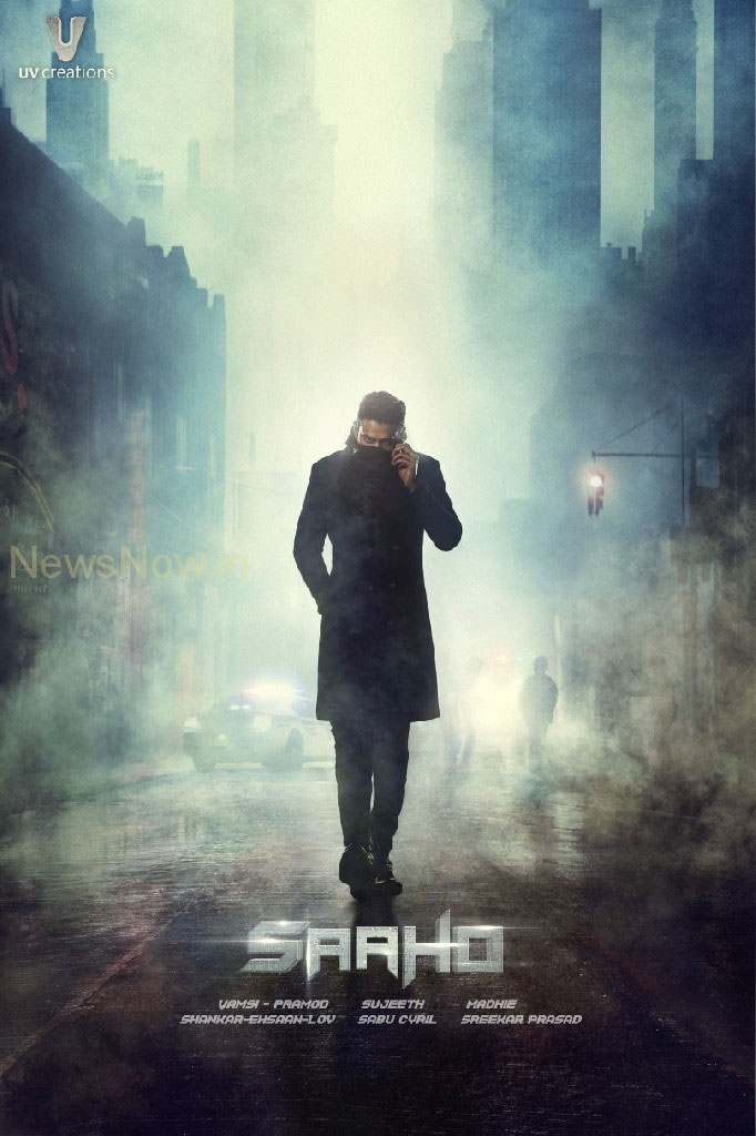 Prabhas Saaho First look poster