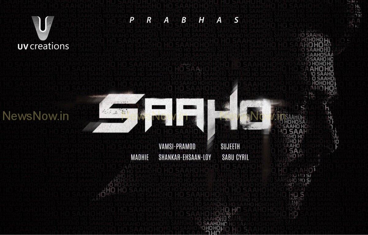 Prabhas' Saaho First Look