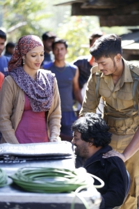 Puri's Mehbooba Working Stills