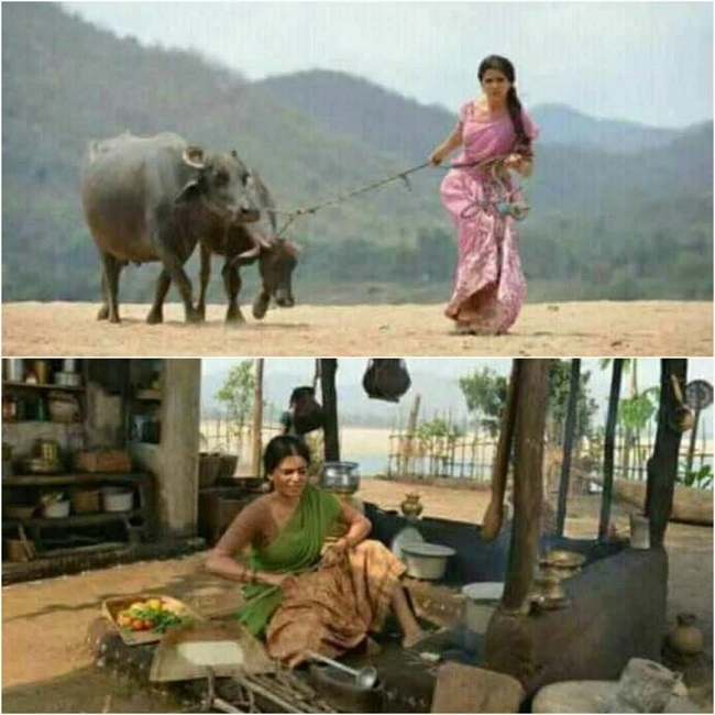 Rangasthalam Movie Stills.