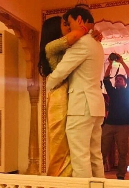 Shriya Saran Wedding Photos.