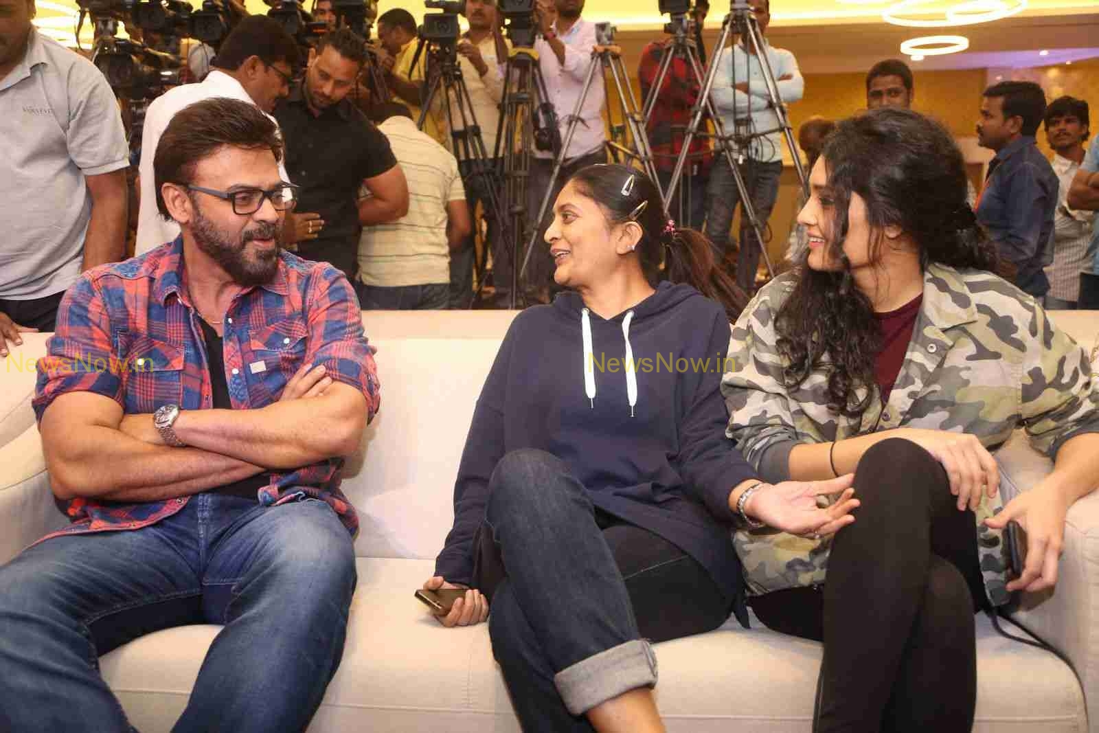 Venky's Guru Audio Launch