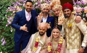 Virat Kohli Anushka Wedding Pictures
