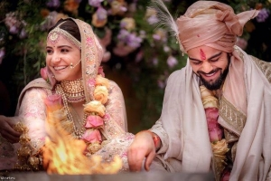 Virat Kohli-Anushka Wedding Pictures